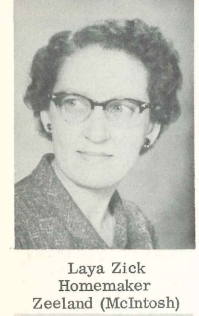 Wade Zick's first wife Laya